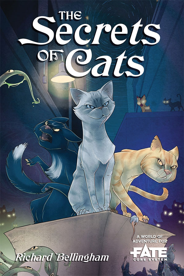 Fate Core Rpg: The Secrets Of Cats Box Front