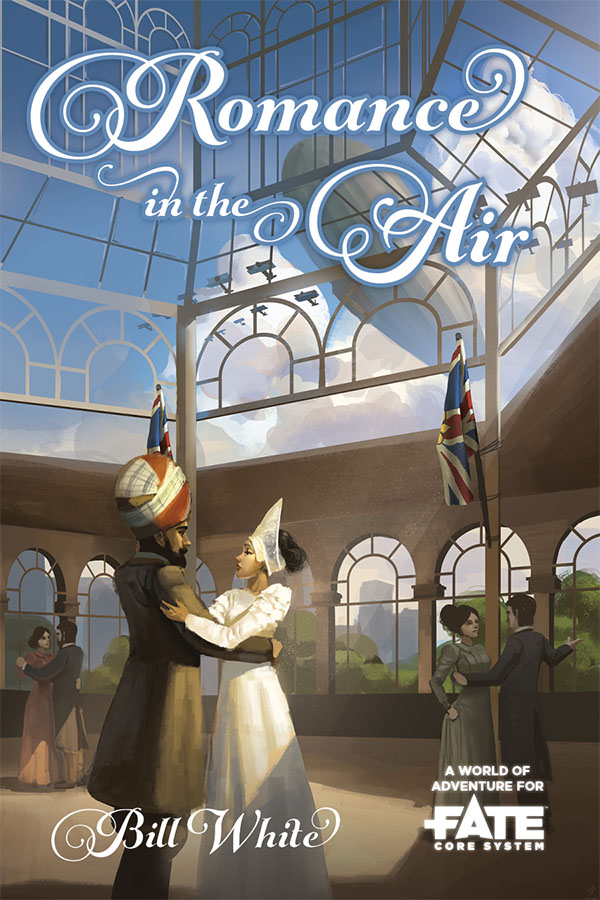 Fate Core Rpg: Romance In The Air Box Front