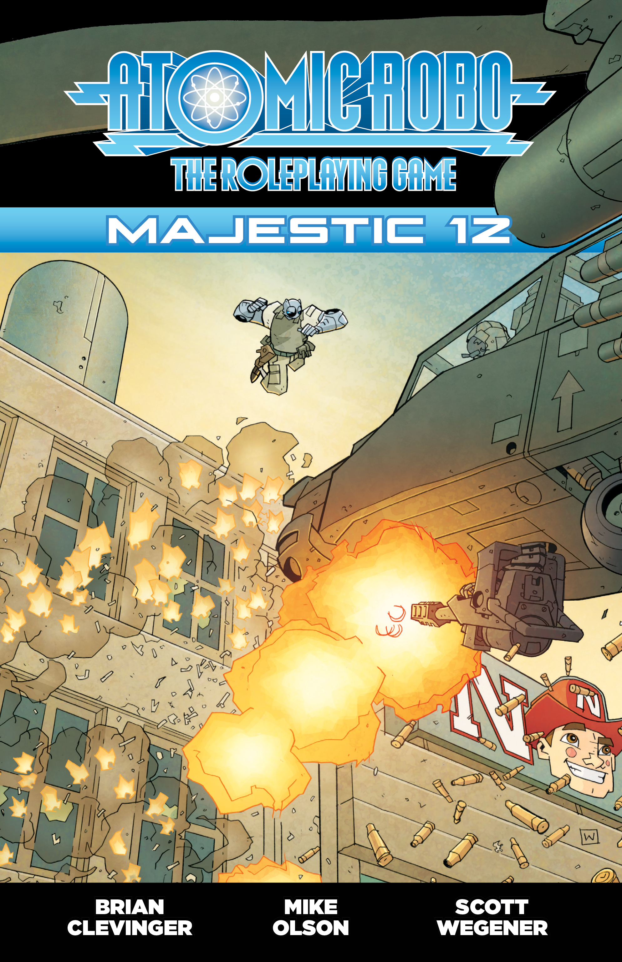 Fate Core Rpg: Atomic Robo - Majestic 12 Box Front