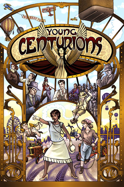 Fate Core Rpg: Young Centurions Core Rules Box Front