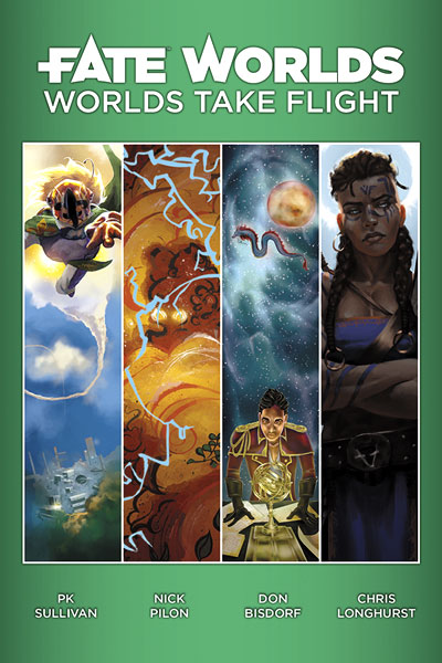 Fate Core Rpg: Fate Worlds - Worlds Take Flight Box Front