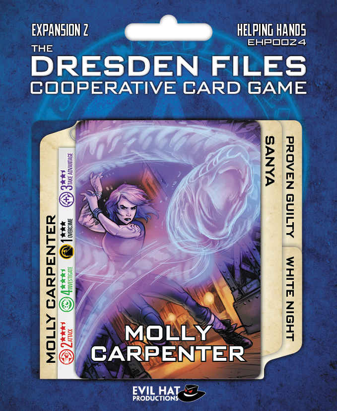 The Dresden Files Cooperative Card Game: Expansion 2 - Helping Hands Box Front
