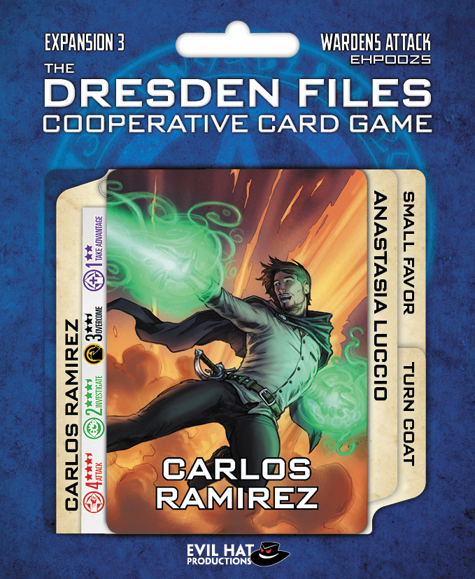 The Dresden Files Cooperative Card Game: Expansion 3 - Wardens Attack Box Front