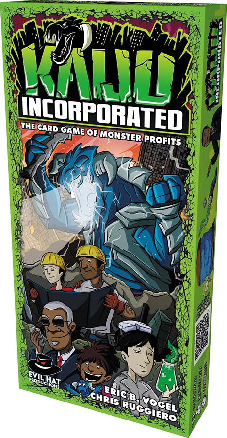 Kaiju Incorporated: The Card Game Box Front