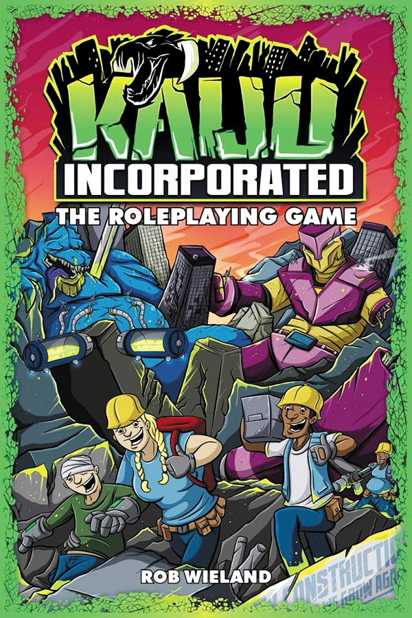 Fate Core Rpg: Kaiju Incorporated Hardcover Box Front