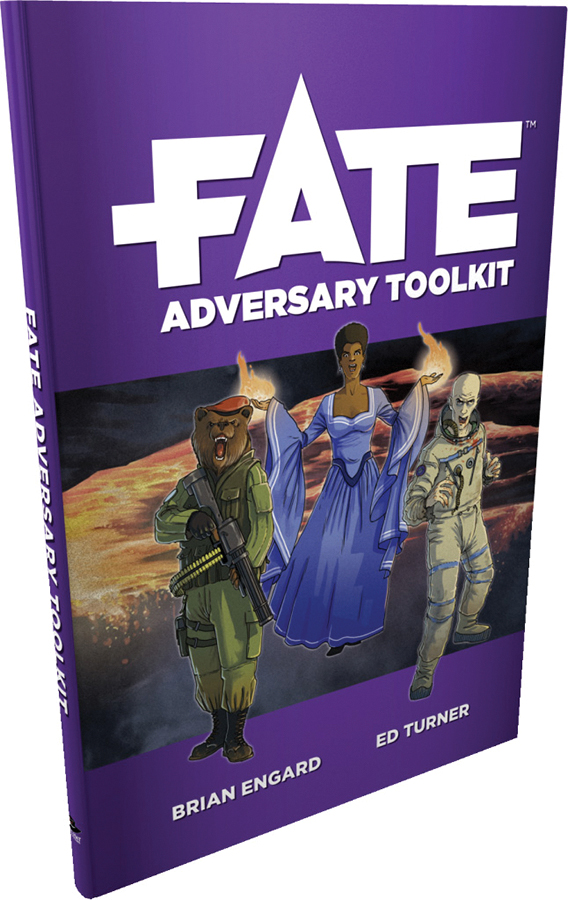 Fate Core Rpg: Fate Adversary Toolkit Box Front