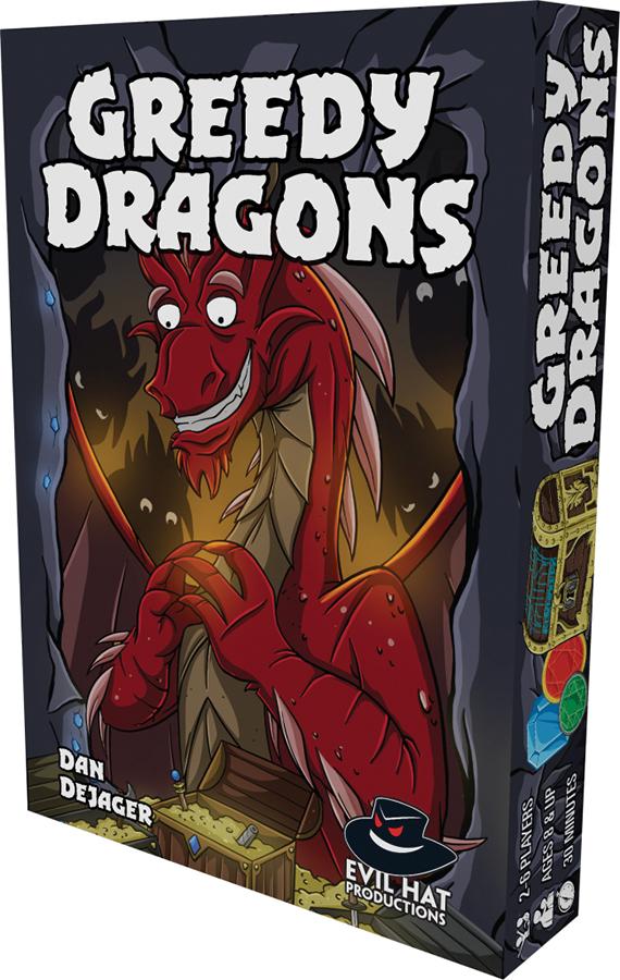 Greedy Dragons Box Front