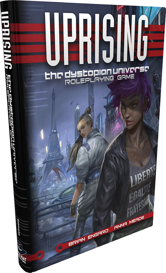 Uprising: The Dystopian Universe Rpg Hardcover Game Box