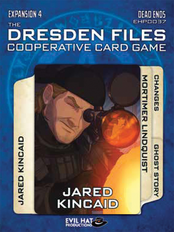 The Dresden Files Cooperative Card Game: Expansion 4 - Dead Ends Box Front