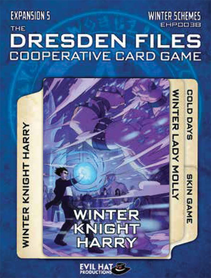The Dresden Files Cooperative Card Game: Expansion 5 - Winter Schemes Box Front