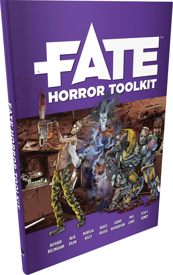 Fate Core Rpg: Fate Horror Toolkit Box Front