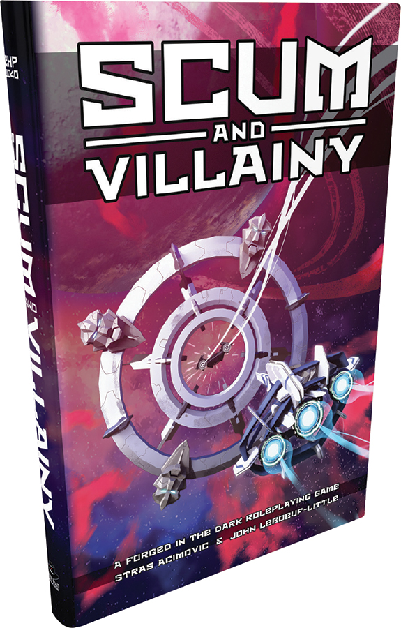 Scum And Villainy (blades In The Dark System)  Rpg Hardcover Box Front