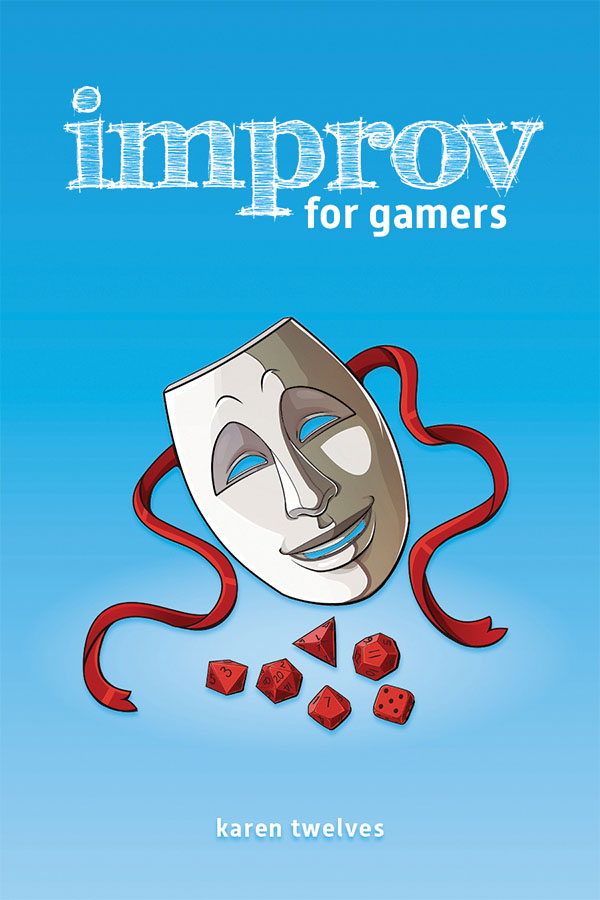 Improv For Gamers Hardcover Game Box