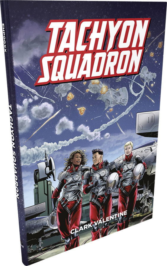 Fate Core Rpg: Tachyon Squadron Hardcover Game Box