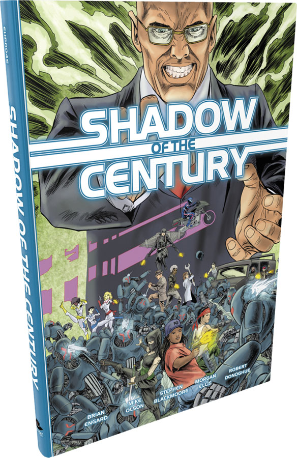Fate Core Rpg: Shadow Of The Century Hardcover Game Box