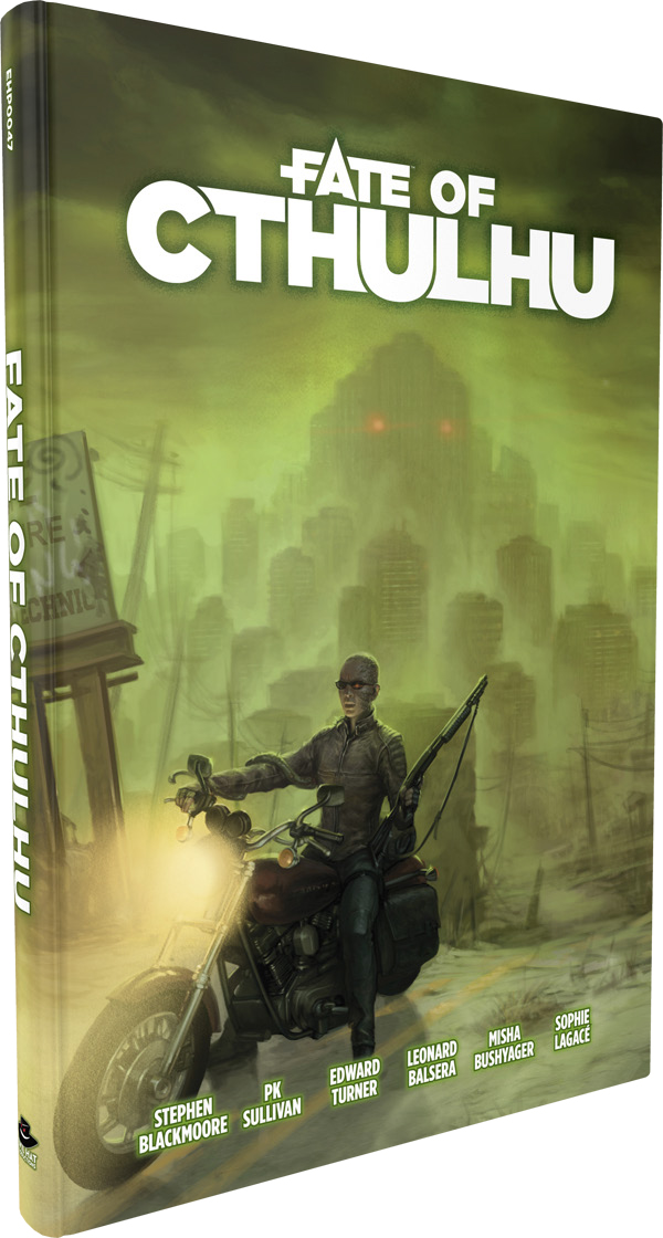 Fate Core Rpg: Fate Of Cthulhu Core Rules Hardcover