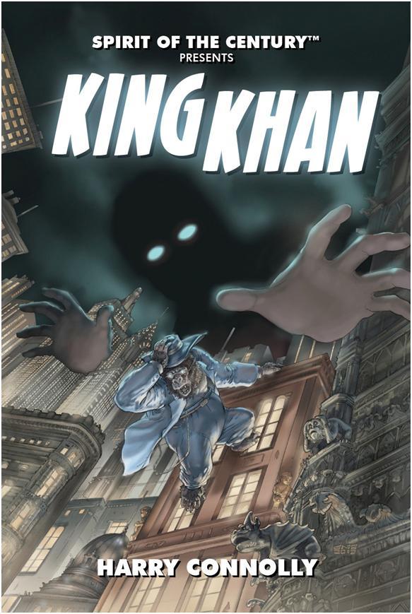 Spirit Of The Century: King Khan Paperback Box Front