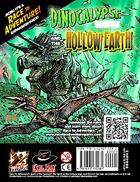 Race To Adventure! Dinocalypse Now/hollow Earth Expansion Pack Box Front