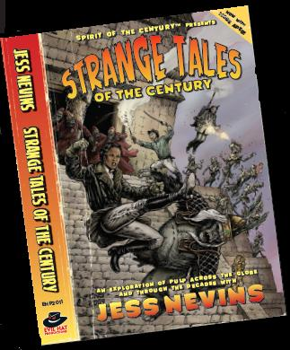 Spirit Of The Century Rpg: Strange Tales Of The Century (includes Core Rules) Box Front