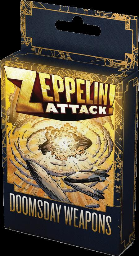 Zeppelin Attack!: Doomsday Weapons Expansion Box Front