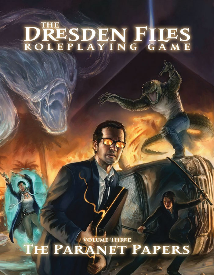 The Dresden Files Rpg: V3 - The Paranet Papers Hardcover Box Front