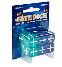 Fate Core Rpg: Fate Dice - Core Box Front