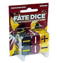 Fate Core Rpg: Fate Dice - Centurion (12) Box Front
