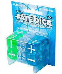 Fate Core Rpg: Fate Dice - Atomic Robo (12) Box Front
