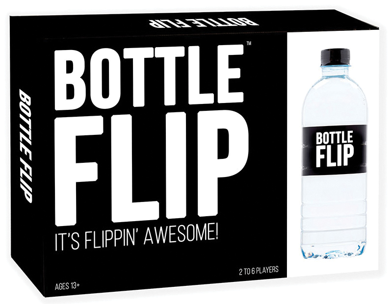 Bottle Flip Board Game (2nd Edition) Box Front