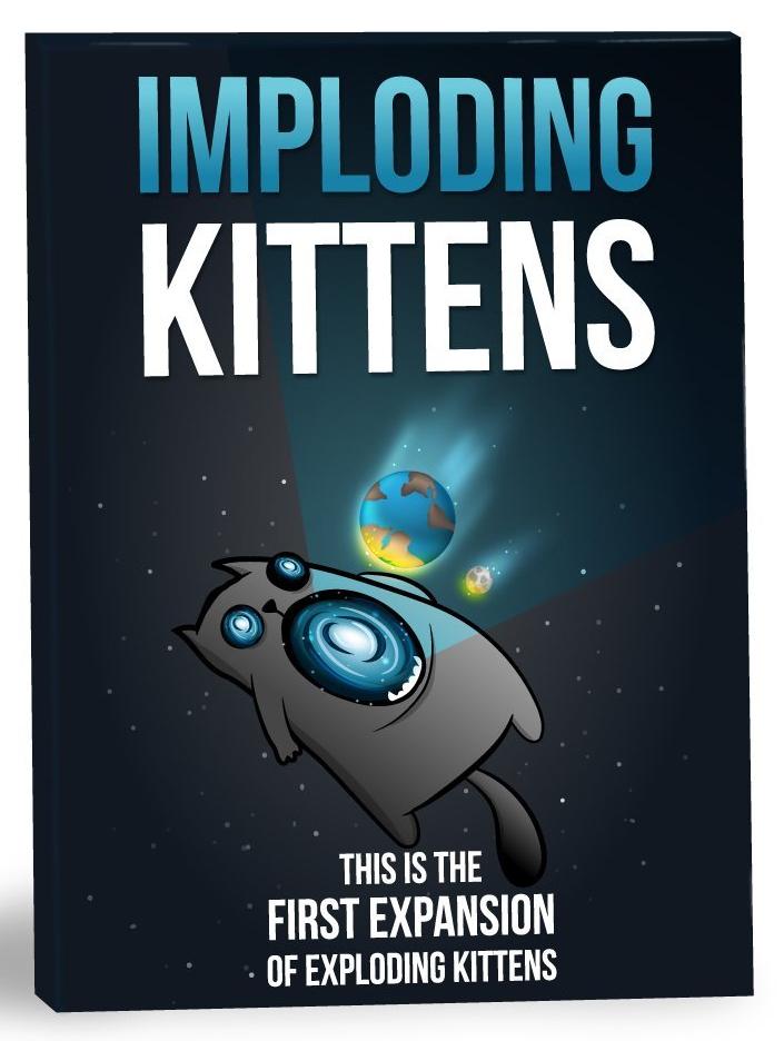 Exploding Kittens: Imploding Kittens Expansion Box Front