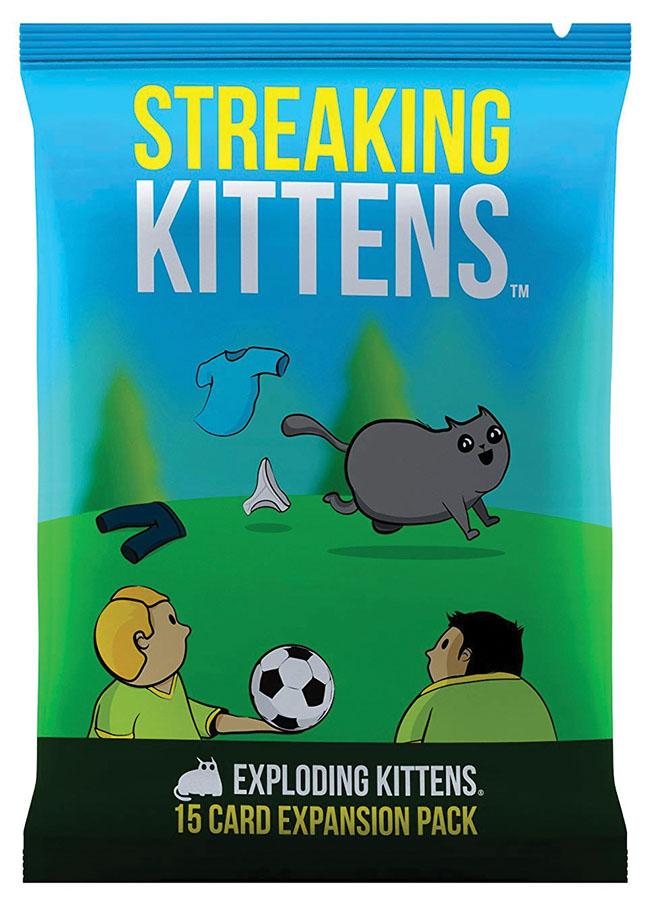 Exploding Kittens: Streaking Kittens Expansion Game Box