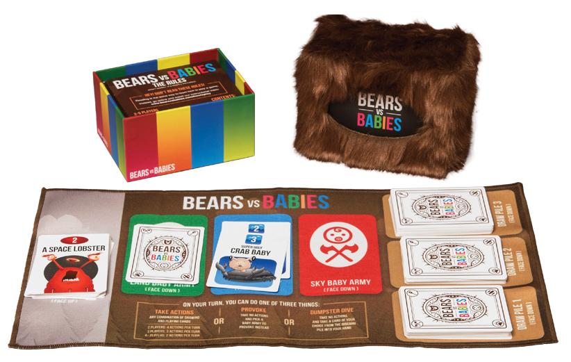 Bears Vs Babies Box Front