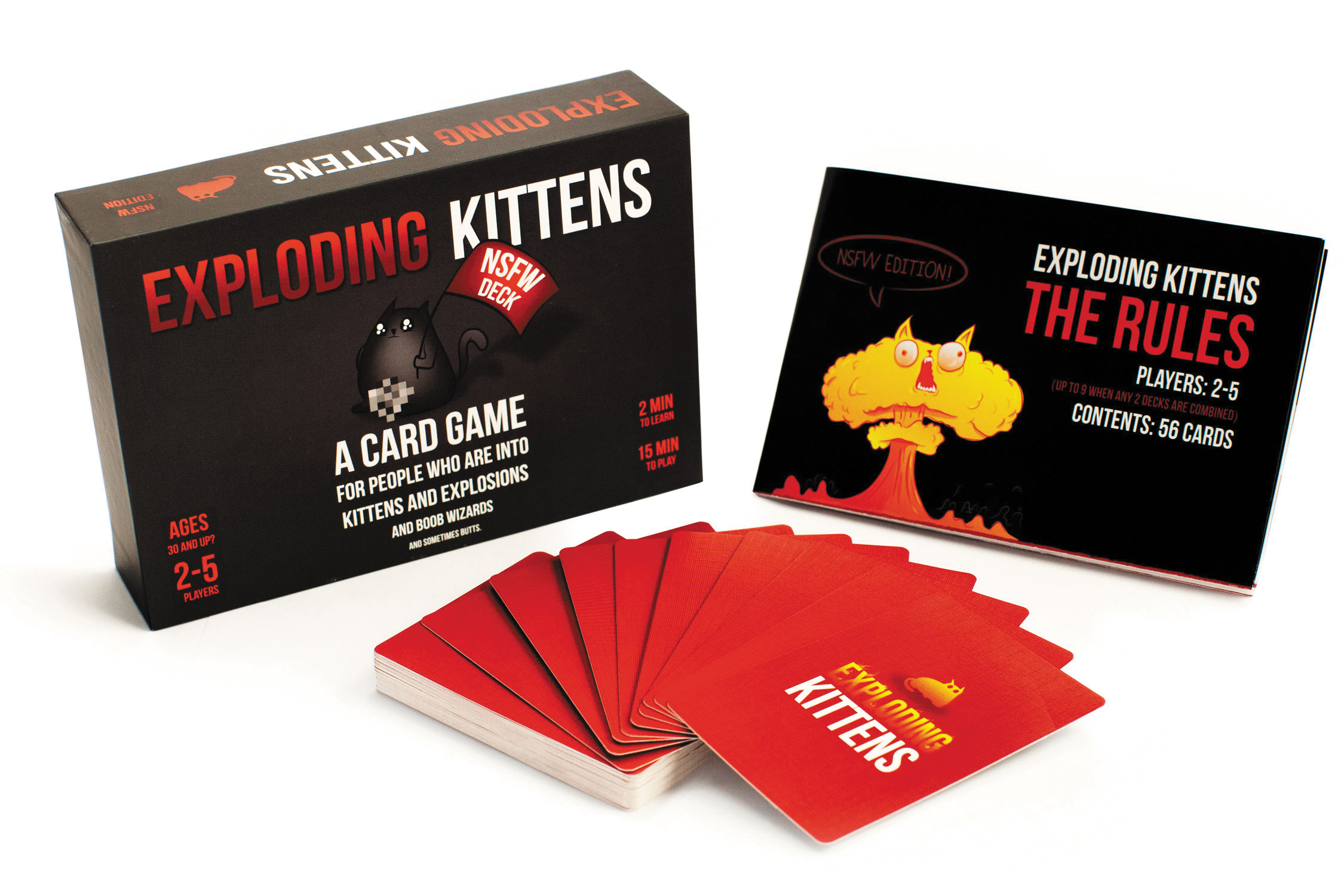 Exploding Kittens Nsfw Edition Box Front