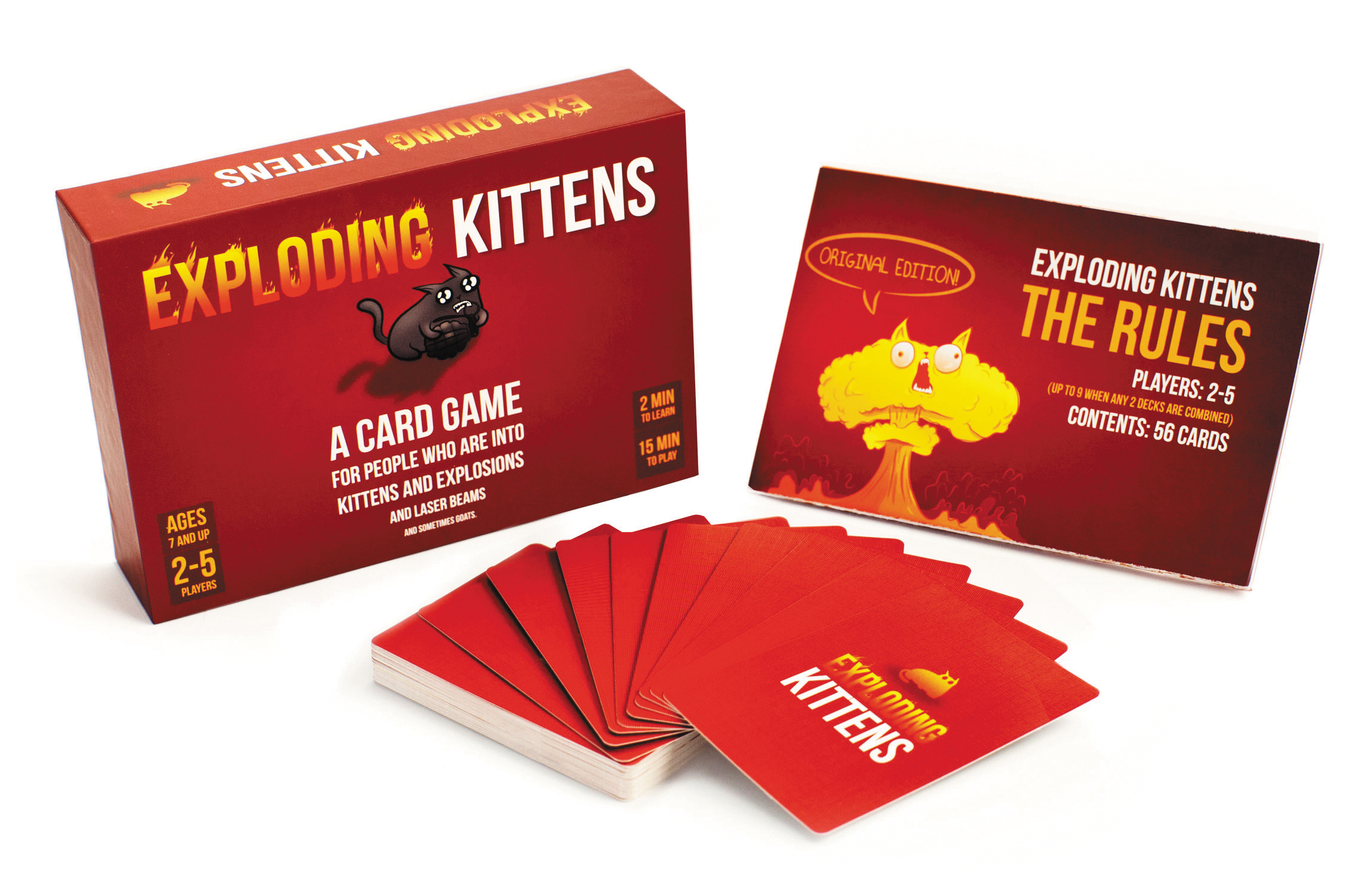 Exploding Kittens Original Edition Box Front