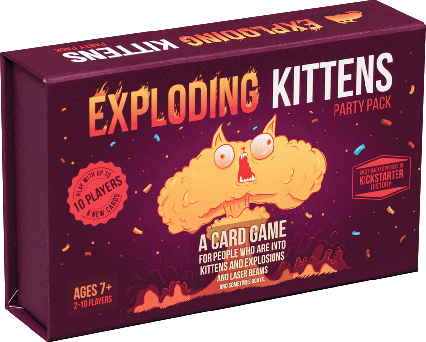 Exploding Kittens Party Pack Box Front