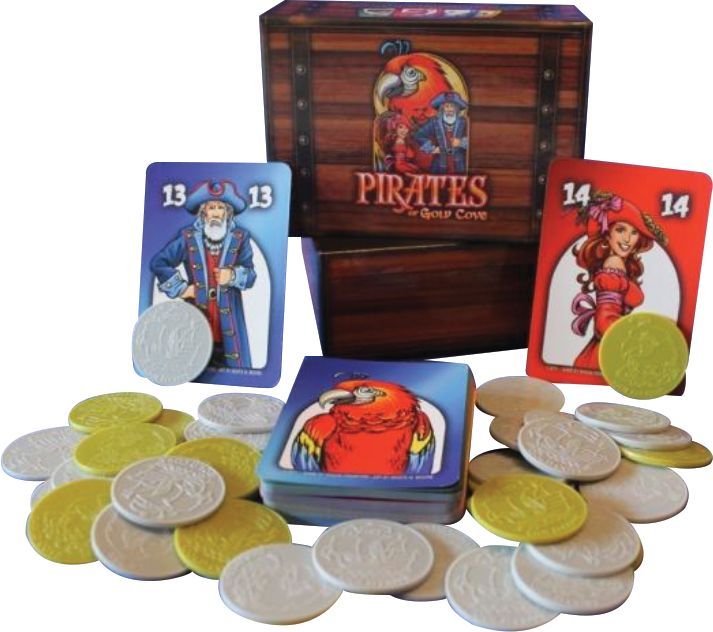 Pirates Of Gold Cove Box Front