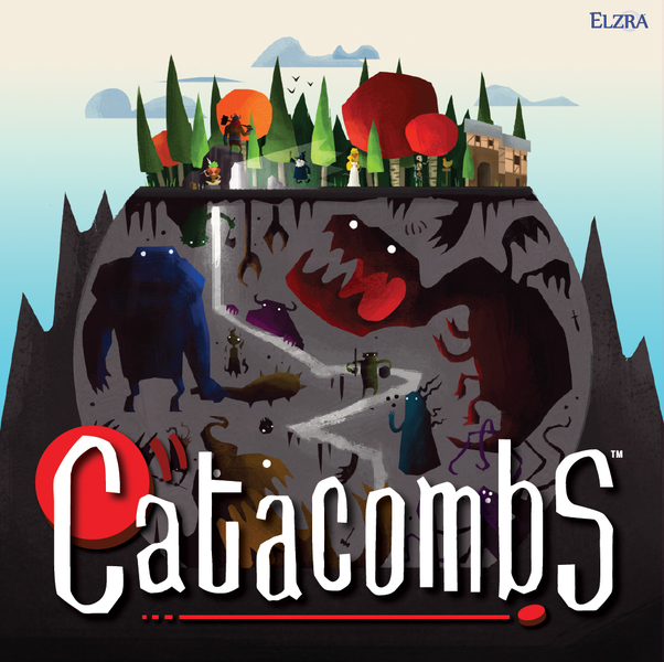 Catacombs: Third Edition Demo Copy Game Box
