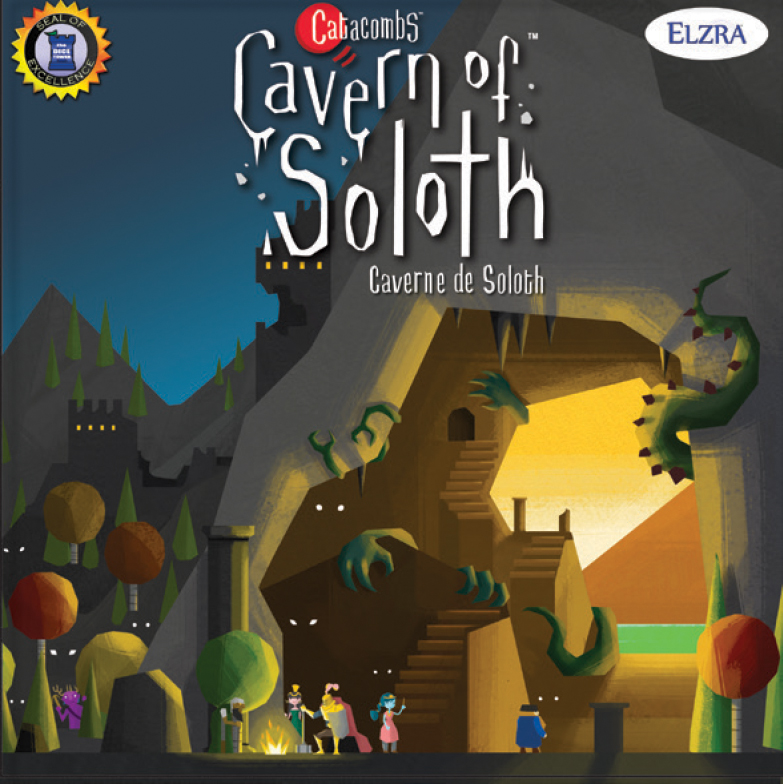 Catacombs: Cavern Of Soloth Expansion Box Front