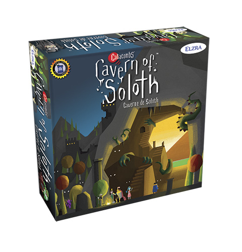 Catacombs: Cavern Of Soloth Expansion Demo Copy Game Box