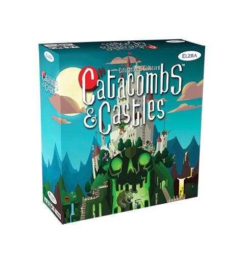 Catacombs: Castles Demo Copy Game Box