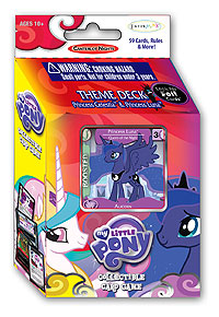 My Little Pony Ccg: Canterlot Nights Theme Deck Display (8) Box Front