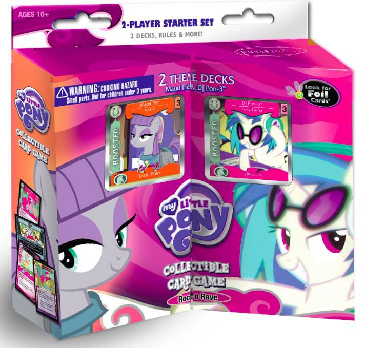 My Little Pony Ccg: Rock N Rave 2-player Starter Set Box Front