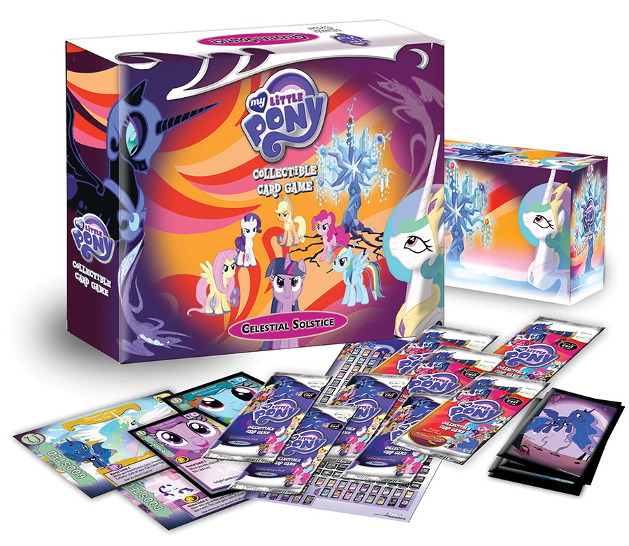 My Little Pony Ccg: Celestial Solstice Deluxe Boxed Set Box Front