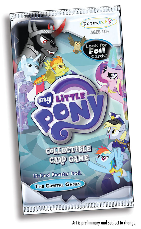 My Little Pony Ccg: The Crystal Games Booster Box Front