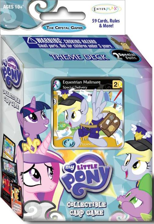 My Little Pony Ccg: The Crystal Games Theme Deck Display (8) Box Front