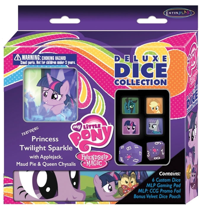My Little Pony Ccg: Deluxe Dice Collection Case (12) Box Front