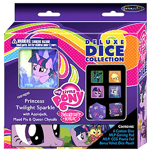 My Little Pony Ccg: Deluxe Dice Collection Box Front