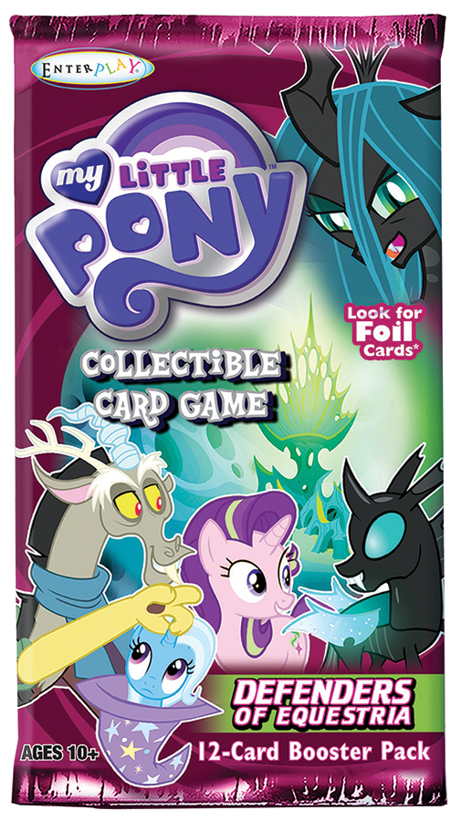 My Little Pony Ccg: Defenders Of Equestria Booster Dis (36) Box Front