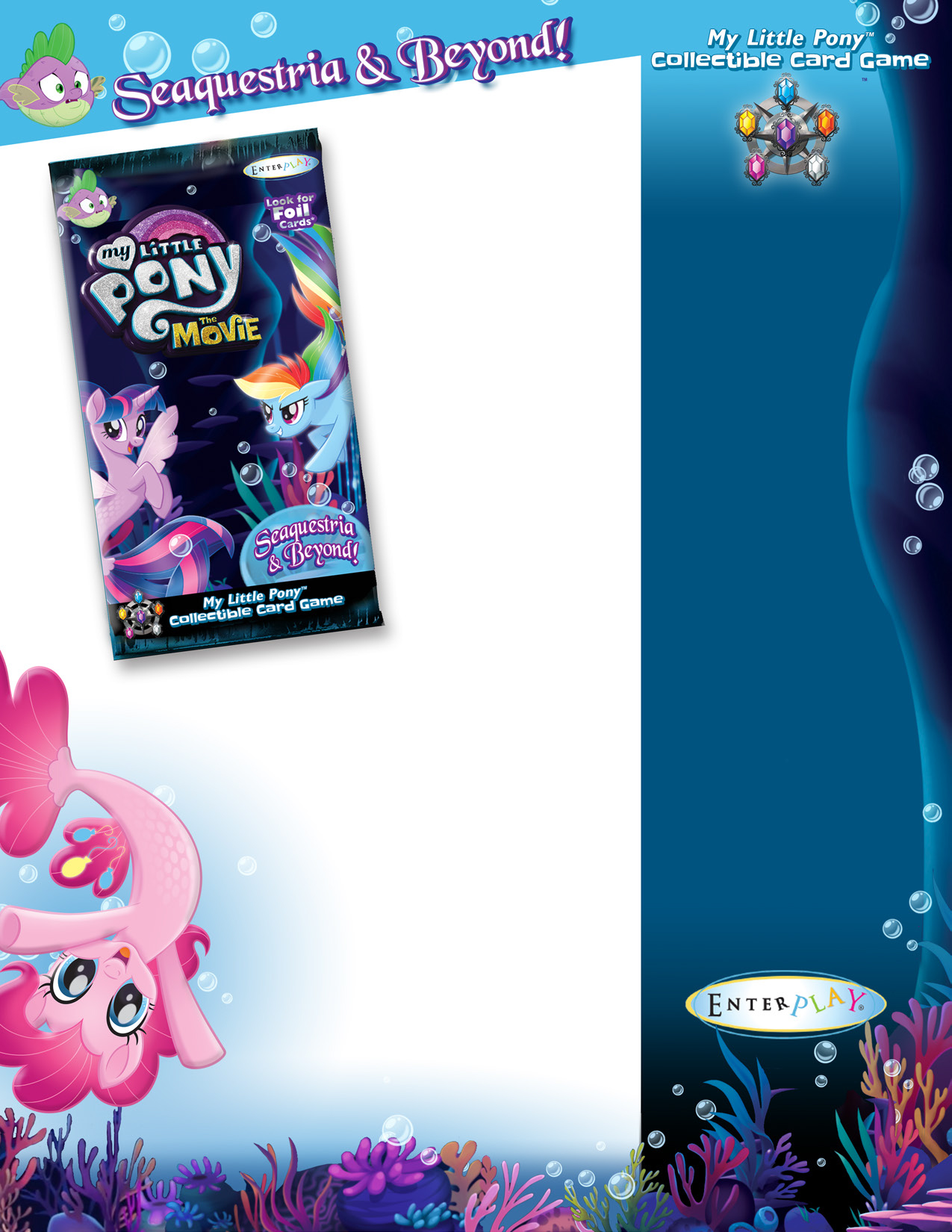 My Little Pony Ccg: Seaquestria & Beyond Booster Display (36) Game Box