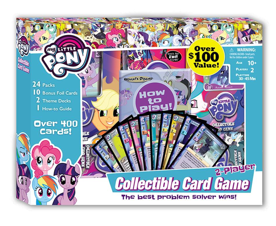 My Little Pony Ccg: Super Value Box Game Box
